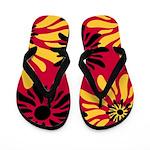 Sunbursts Flip Flops