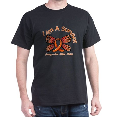 Multiple Sclerosis I'm A Survivor Dark T-Shirt