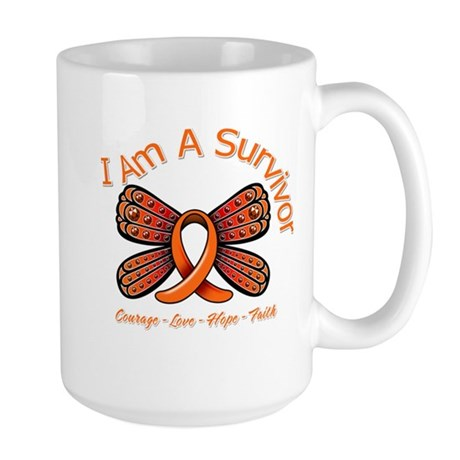 Multiple Sclerosis I'm A Survivor Large Mug