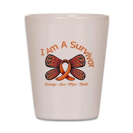 Multiple Sclerosis I'm A Survivor Shot Glass
