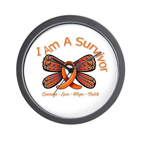 Multiple Sclerosis I'm A Survivor Wall Clock