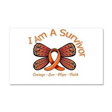 Multiple Sclerosis I'm A Survivor Car Magnet 20 x