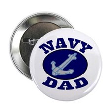 Navy Dad Button
