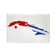 """Pixel Cuba"" Rectangle Magnet (100 pack)"