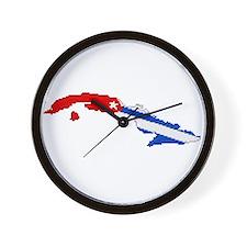 """""""Pixel Cuba"""" Wall Clock"""