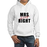 "For Her : ""MRS Always RIGHT"" Jumper Hoody"