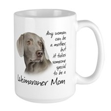 Weimaraner Mom Ceramic Mugs