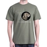 Weimaraner Dad T-Shirt