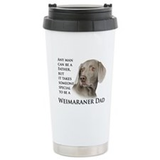 Weimaraner Dad Ceramic Travel Mug