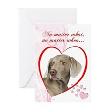 "Weimaraner ""Just Whistle"" Valentine"