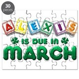 Alexis is Due in March Puzzle