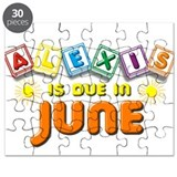 Alexis is Due in June Puzzle