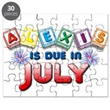 Alexis is Due in July Puzzle