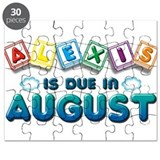 Alexis is Due in August Puzzle