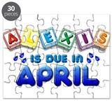 Alexis is Due in April Puzzle