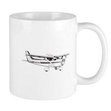 Cessna 172 Coffee Small Mugs