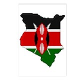 """Pixel Kenya"" Postcards (Package of 8)"