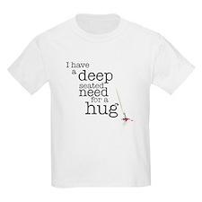 Need for a hug Kids Light T-Shirt