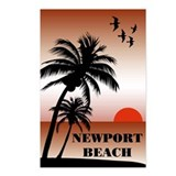Newport Beach Sunset Postcards (Package of 8)
