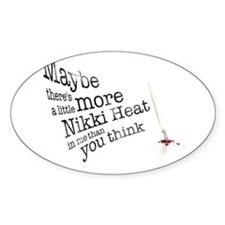 Maybe there's a little more Sticker (Oval 50 pk)