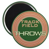 "Track and Field Throws 2.25"" Magnet (100 pack)"