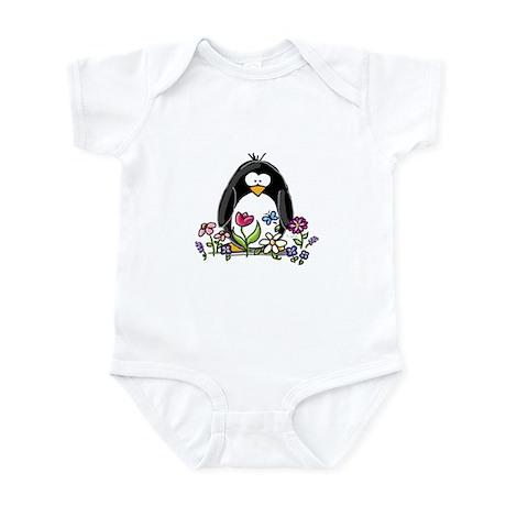 Garden penguin Infant Creeper