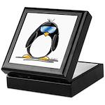 Cool penguin Keepsake Box