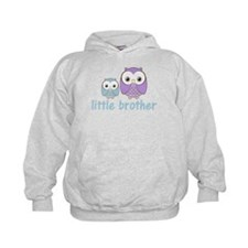 Blue/Purple Little Brother Ow Hoodie
