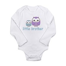 Blue/Purple Little Brother Ow Long Sleeve Infant B