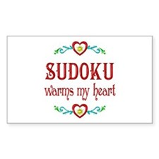 Sudoku Warms My Heart Decal