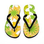 Summer Picnic Flip Flops