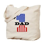 #1 Dad Tote Bag