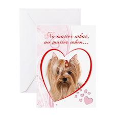 """Yorkie """"Just Whistle"""" Valentine"""