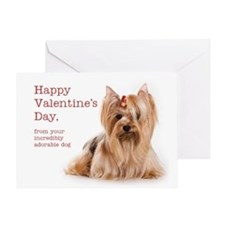 Valentine from the Yorkie Card