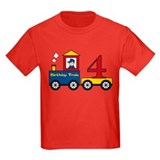 4 Year Old Birthday Train T
