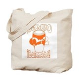 Orange MambOn2Bailamos Tote Bag