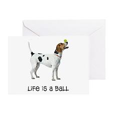 Foxhound Life Greeting Card
