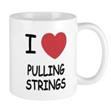 I heart pulling strings Mug