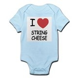 I heart string cheese Onesie
