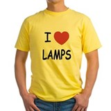 I heart lamps T
