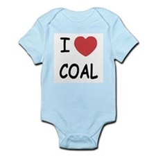 I heart coal Onesie
