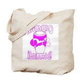Pink MambOn2Bailamos Tote Bag