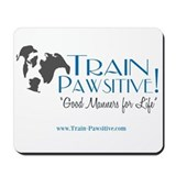 Train Pawsitive Mousepad