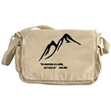 Mountains Calling Messenger Bag