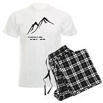 Mountains Calling Men's Light Pajamas