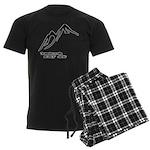 Mountains Calling Men's Dark Pajamas