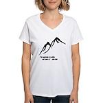 Mountains Calling Women's V-Neck T-Shirt
