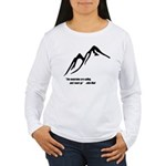 Mountains Calling Women's Long Sleeve T-Shirt
