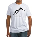 Mountains Calling Fitted T-Shirt