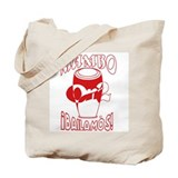 Red MambOn2Bailamos Tote Bag